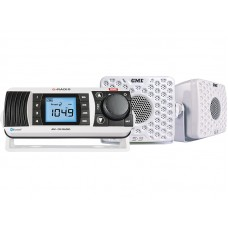AM/FM Marine Radio Ent. Pack - White